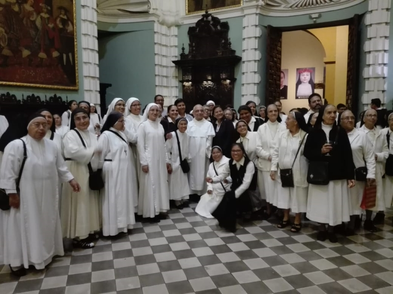 Fr. Bruno with Federation members